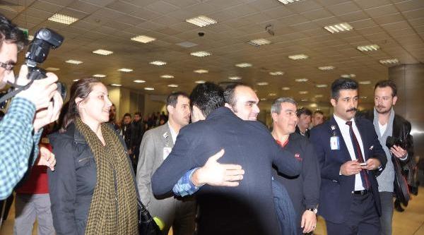 Gazeteci Bünyamin Aygün Istanbul'da