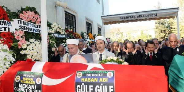 Gazeteci Hasan Yilmaer'e Son Görev