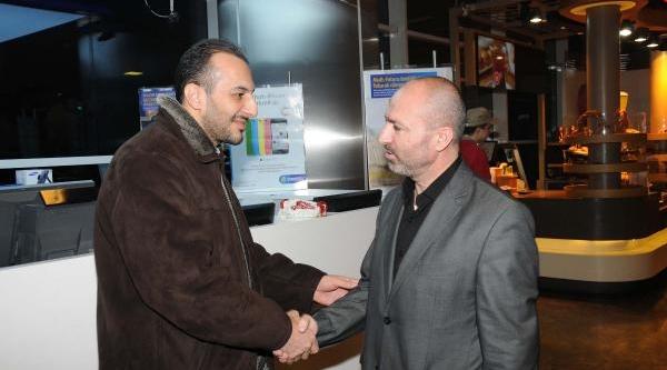 Gazeteci Metin Turan Geldi