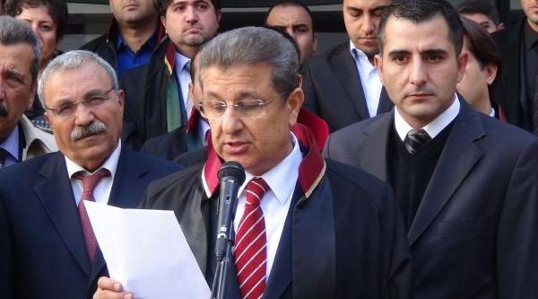 Gaziantep Barosu, Avukata Saldiriyi Protesto Etti