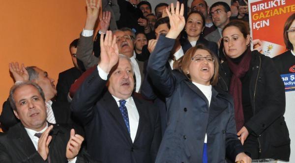 Gaziantep Büyükşehir Belediye Başkanlığı Seçimini Ak Partili Fatma Şahin Kazandı (2)