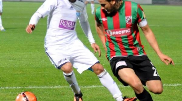 Gaziantep Büyükşehir Belediyespor - Karşiyaka: 1-1