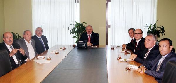 Gaziantep Osb Yönetimi, Hüseyin Çelik'le Irak Sorununu Konuştu