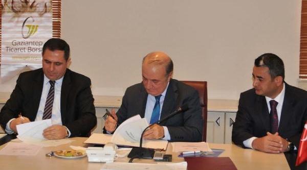 Gaziantep Üniversitesi, Ticaret Borsasiyla 4 Protokol Imzaladi