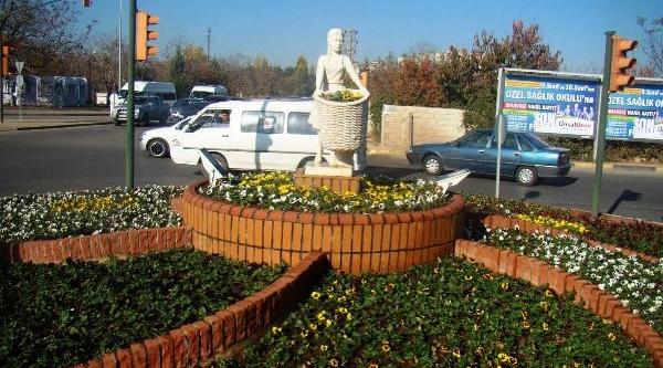 Gaziantep'E Yil Sonuna Kadar 4 Milyon 37 Bin Çiçek