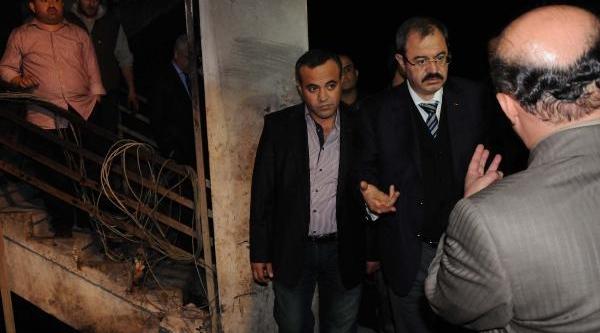 Gaziantepli Sanayicilerden, 2 Kişinin Öldüğü Işhanindaki Esnafa Destek