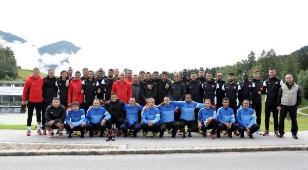 Gaziantepspor Avusturya'da İlk İdmanini Yaptı