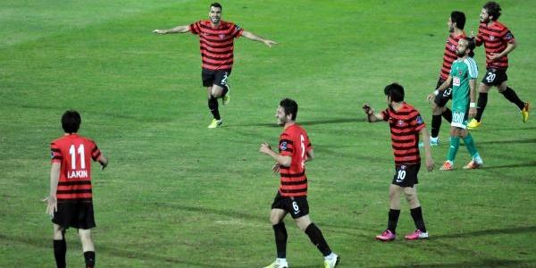 Gaziantepspor-Hatayspor: 1-0 (Ziraat Türkiye Kupasi)