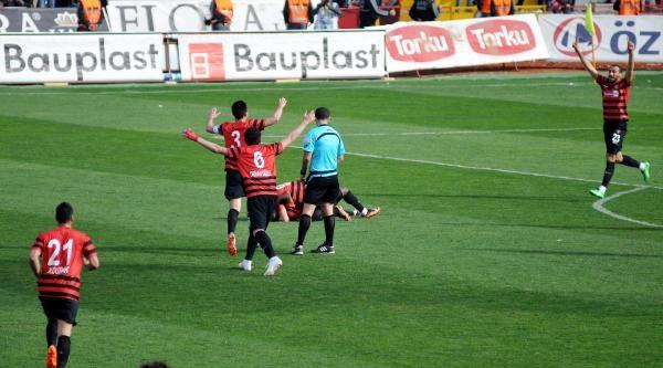 Gaziantepspor - Kayserispor: 2-1