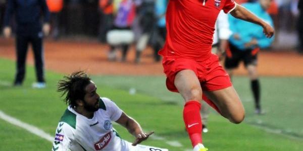 Gaziantepspor - Torku Konyaspor: 3-3