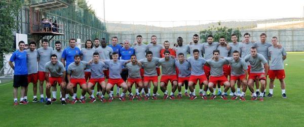 Gaziantepspor Yeni Sezon Çalişmalarina Başladı
