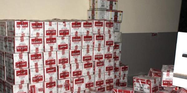 Gaziantep'te 10 Ayda 82 Ton Kaçak Çay Ele Geçirildi