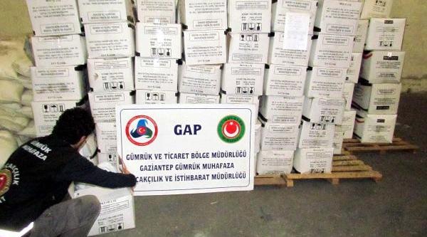 Gaziantep'te 10 Ton Kaçak Çay Ele Geçirildi