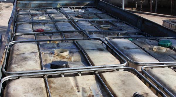 Gaziantep'te 11 Ton Kaçak Akaryakıt Ele Geçirildi