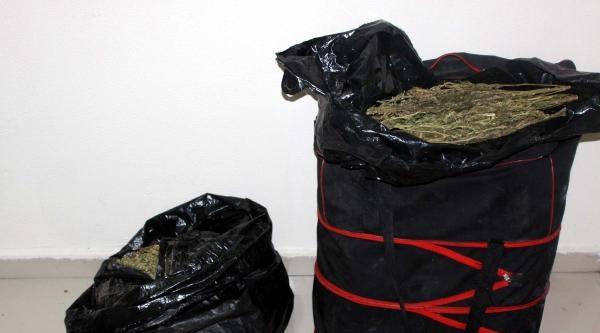 Gaziantep'te 13 Kilo Esrar Ele Geçirildi