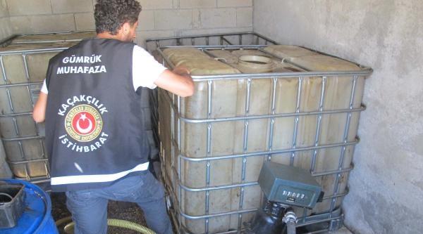 Gaziantep'te 14 Bin 200 Litre Kaçak Akaryakıt Ele Geçirildi