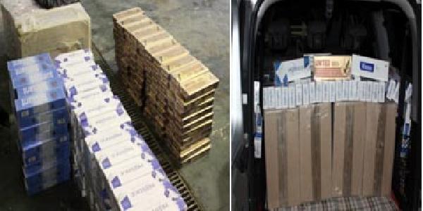 Gaziantep'te 1 Haftada 58 Bin Paket Kaçak Sigara Ele Geçirildi