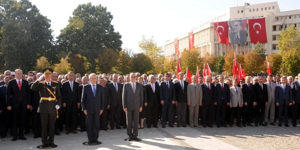 Gaziantep'te 29 Ekim Kutlamalari Başladi