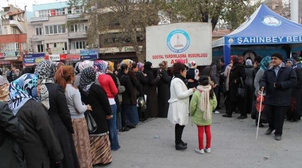 Gaziantep'Te 2 Bin Kişiye Aşure Ikrami