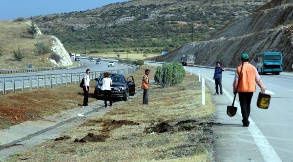 Gaziantep'te 2 Kaza: 5 Yaralı