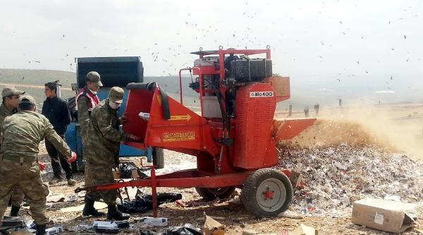 Gaziantep'te 380 Bin Paket Kaçak Sigara İmha Edildi