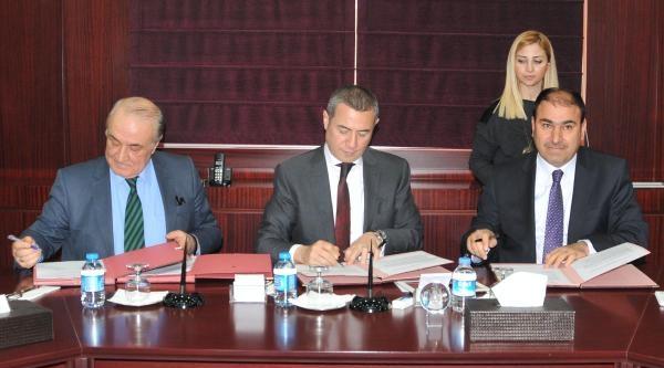 Gaziantep'te 3 Kurum Arasında Eğitim Protokolü İmzalandi
