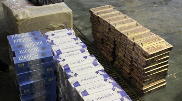 Gaziantep'te 45 Bin Paket Kaçak Sigara Ele Geçirildi