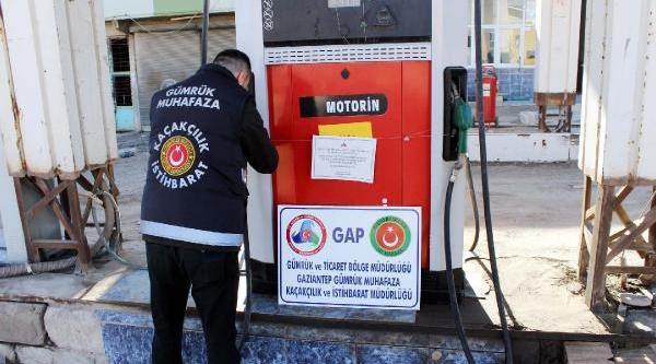 Gaziantep'te 4 Milyon 100 Bin Liralik Kaçak Kaçak Akaryakit Operasyonu