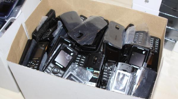 Gaziantep'te 50 Kaçak Cep Telefonuna 1 Gözaltı