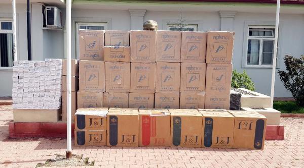 Gaziantep'te 63 Bin Paket Sigara Ele Geçirildi