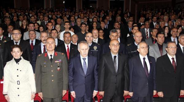 Gaziantep'te 7 Şehit Yakını İle 2 Gaziye Devlet Övünç Madalyası Verildi