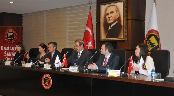 Gaziantep'te Abd Ticari İlişkiler Toplantısı Yapıldı