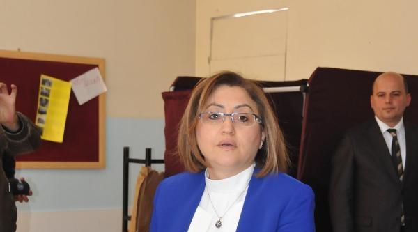Gaziantep'te Başkan Adayları Oy Kullandı