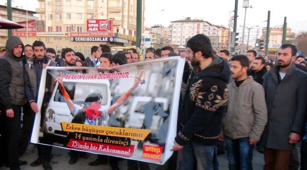 Gaziantep'te 'berkin Elvan' Yürüyüşünde Arbede