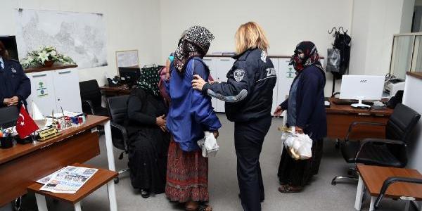 Gaziantep'te Dilenci Operasyonu