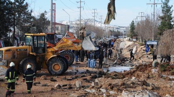 Gaziantep'te Doğalgaz Borusu Patladi: 6 Yarali (2)- Yeniden