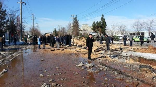 Gaziantep'te Doğalgaz Borusu Patladi; Yaralilar Var (Fotoğraflar)
