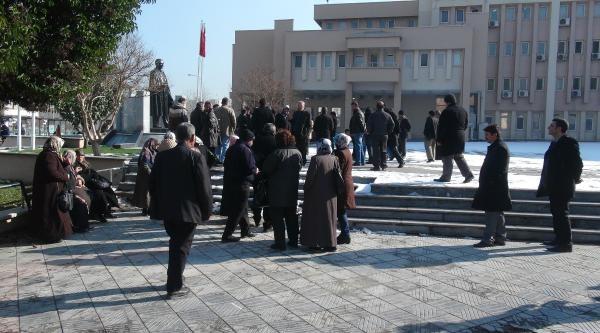 Gaziantep'te 'doğalgaz' Eylemi