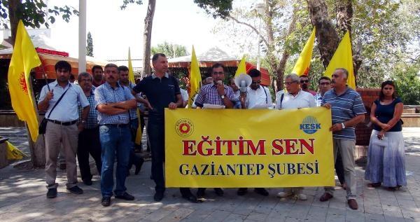 Gaziantep'te Eğitimcilerden '75 Puan' Tepkisi