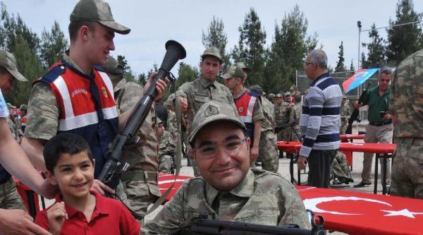 Gaziantep'te Engelliler 1 Gün Asker Oldu