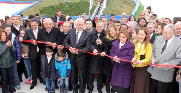 Gaziantep'te Erikçe Kayak Pisti Açıldı