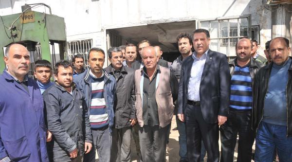 Gaziantep'te Esnaftan Elektrik Kesintilerine Tepki