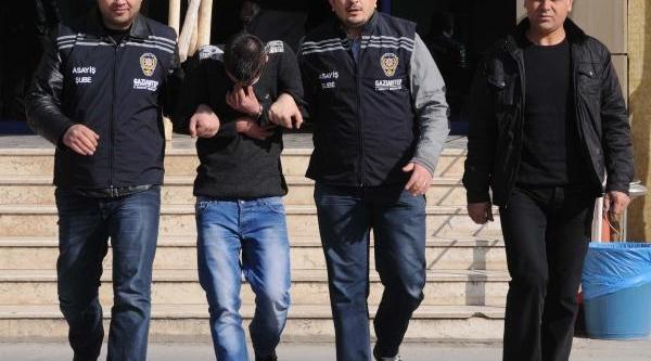 Gaziantep'Te Gasp Şüphelisi Gözaltinda