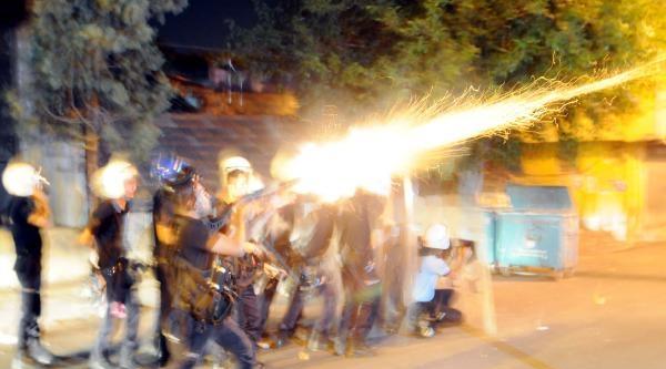 Gaziantep'te Gece Yine Gergin Geçti
