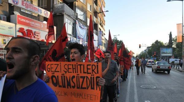 Gaziantep'te Gezi Parkı Eylemi
