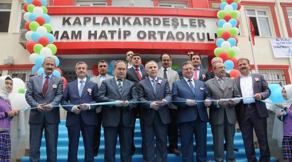 Gaziantep'te Hayırsever Ailenin Okulu Hizmete Açıldı