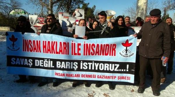 Gaziantep'te 'insan Haklari' Eylemi