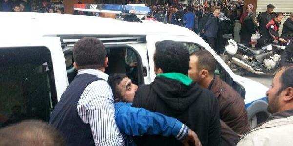 Gaziantep'te Iş Merkezinde Yangin (3) - Yeniden