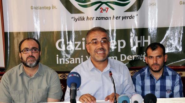 Gaziantep'te İsrail Saldırısına Kınama