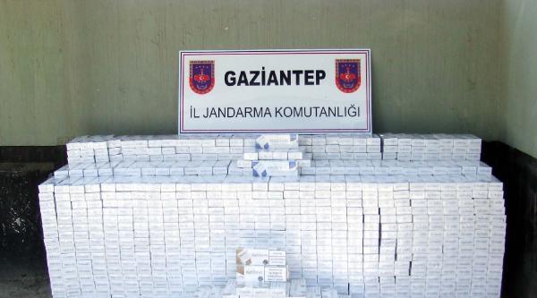 Gaziantep'te Jandarmadan 3 Ayda 741 Kaçakçılık Operasyonu